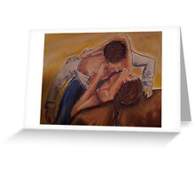 Intimate Embrace Greeting Card