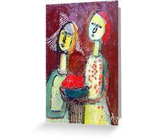 bearers of good tidings Greeting Card
