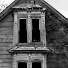 This Old House 9 Black And White Version by Barry W  King