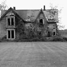 This Old House 13 Black And White Version by Barry W  King