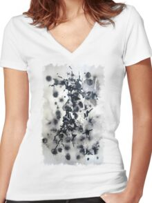 Winter Warrior Women's Fitted V-Neck T-Shirt