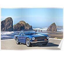 1969 Triumph TR6 Poster