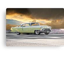 1955 Cadillac Coupe De Ville Metal Print