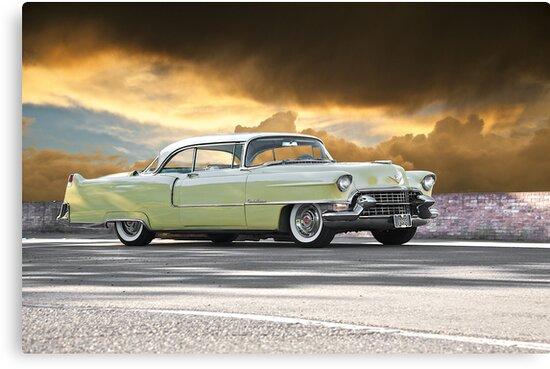 1955 Cadillac Coupe De Ville by DaveKoontz
