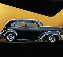 1941 Willys Sedan I by DaveKoontz
