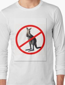 NO DRINKING Long Sleeve T-Shirt