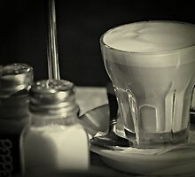 Coffee and condiments by KarenTregoning
