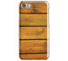 Wooden Slats iPhone Case/Skin