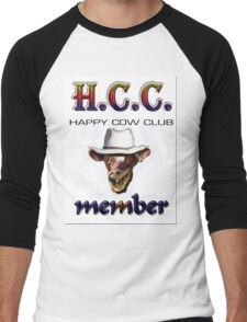 H.C.C. MEMBER Men's Baseball ¾ T-Shirt