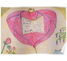 I turned my Heart into a Book. Poster