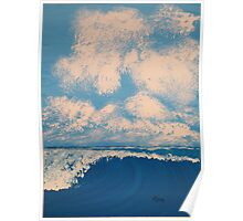 sunrise sea and sky Poster