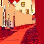 Dysart: Scottish Town digital drawing by Grant Wilson