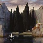 Arnold Böcklin - The Isle of the Dead by TilenHrovatic