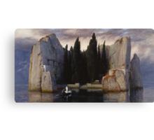 Arnold Böcklin - The Isle of the Dead Canvas Print