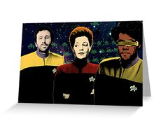 IT Trek Greeting Card