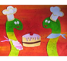 Snakes that Bake Photographic Print
