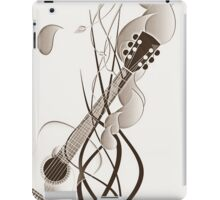 sketchy guitar iPad Case/Skin