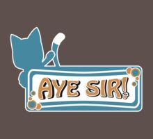 Happy sais Aye Sir! by agustindesigner