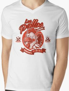 The Chicken Brothers Mens V-Neck T-Shirt