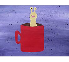 Slug in a Mug - Animal Rhymes - created from recycled math books Photographic Print