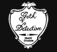 Goth Detective Badge by Grace Mutton