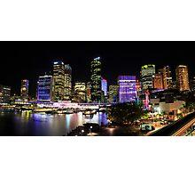 Circular Quay Panorama Photographic Print