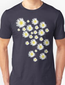White Flower - daisy like Unisex T-Shirt