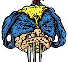 Shrunken Wolverine by ghostfreehood
