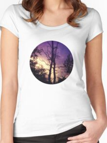 kiss the sky Women's Fitted Scoop T-Shirt