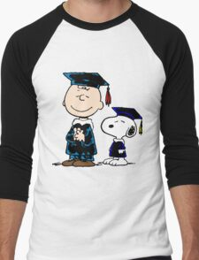 Congrats Snoopy Men's Baseball ¾ T-Shirt