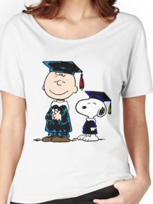 Congrats Snoopy Women's Relaxed Fit T-Shirt