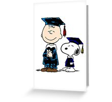 Congrats Snoopy Greeting Card