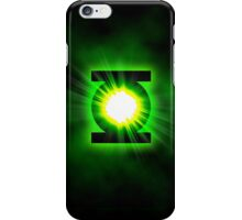 Green Lantern Superhero Logo iPhone Case/Skin