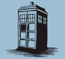 Dr Who's Tardis Kids Clothes