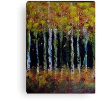 All Natural Forest Fire Canvas Print