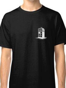 Dr Who's Tardis - White Classic T-Shirt