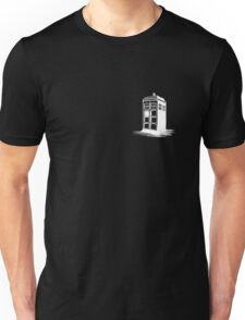 Dr Who's Tardis - White Unisex T-Shirt
