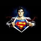 Superman Superhero by neutrone
