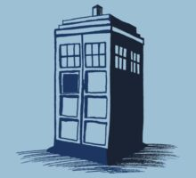 Tardis - Dr Who by Gabrielle Boucher