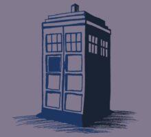 Tardis - Dr Who Kids Clothes