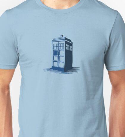 Tardis - Dr Who Unisex T-Shirt