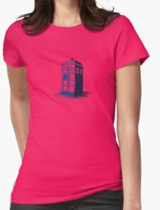 Tardis - Dr Who Womens Fitted T-Shirt