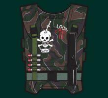 ALIENS - Hudson Shirt Front by ninjartist