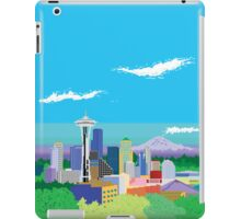 Seattle Pixel Skyline iPad Case/Skin