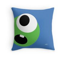 Emotions, Monster. Throw Pillow
