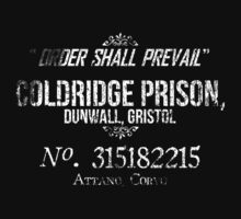 Coldridge Prisoner Shirt by Micah Anderson
