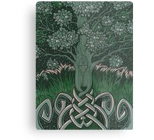 Tree of cognizance - acrylic on board Metal Print