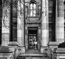 Entrance to the Legislative Council Parliament House South Australia. by Nicholas Griffin