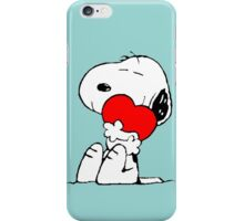 Snoopy Heart Love iPhone Case/Skin