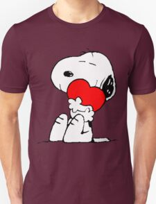 Snoopy Heart Love Unisex T-Shirt